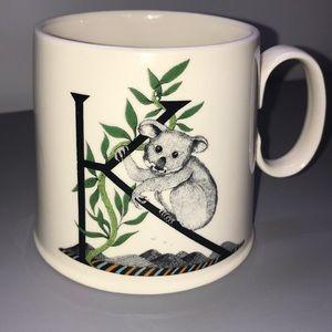 Anthropologie Balducci K mug